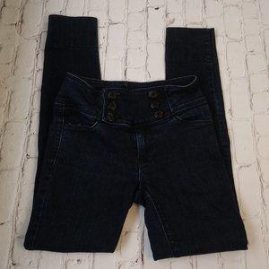 BDG Women Skinny Denim Dark Blue Jeans Size 26